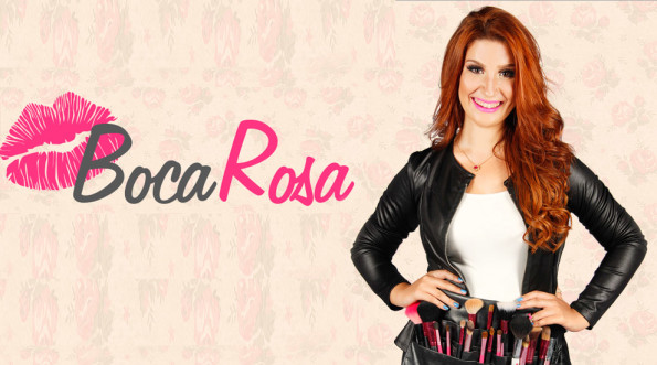 Maquiagem Profissional Online - Boca Rosa - Bianca Andrade