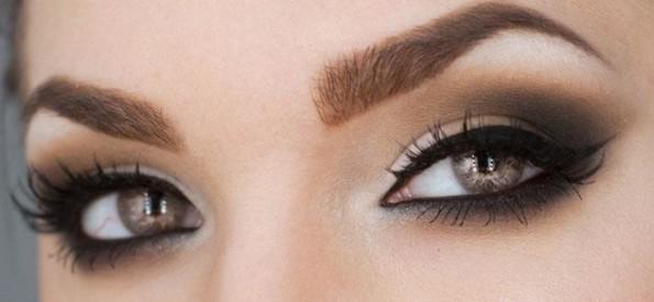 probemas ao se maquiar - olhos esfumados