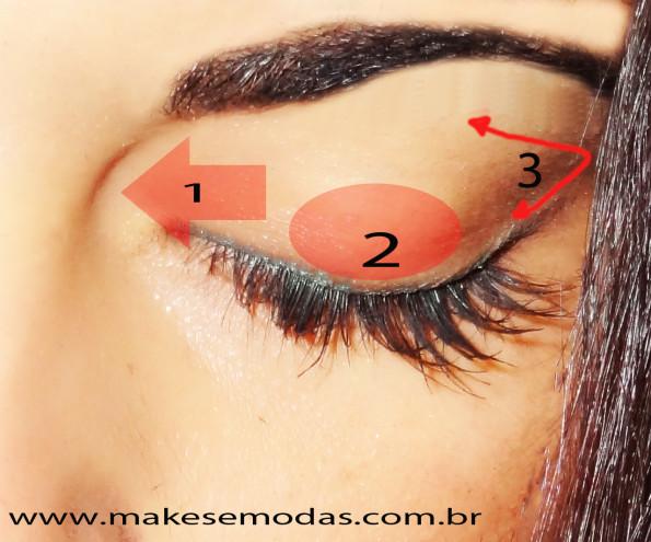 problemas ao se maquiar - maquiando os olhos