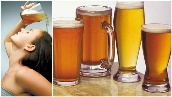 uso da cerveja em cosméticos e estética - cabelos